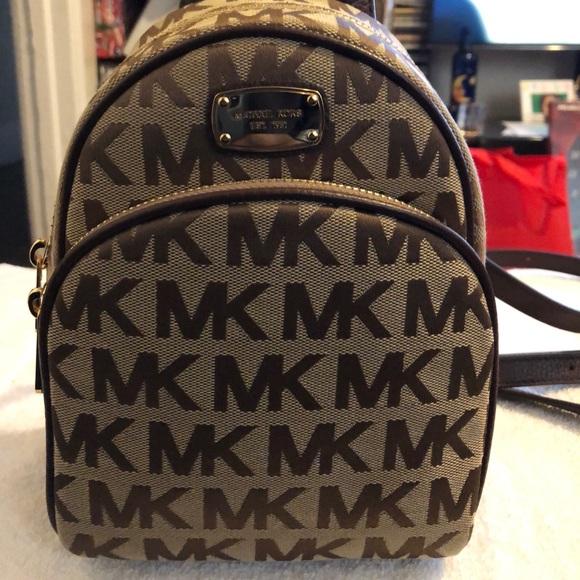 Brand new Michael Kors Abbey XS Mini Backpack MK fcb0808cbae7d